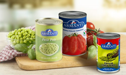Armanti canned vegetables sfeer