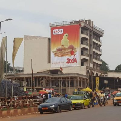 Cameroon - billboard of the chicken (5)